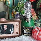 """Подарки к праздникам ручной работы. Ярмарка Мастеров - ручная работа Набор мыла """"Новогоднее поздравление"""". Handmade."""