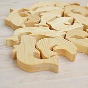 """Куклы и игрушки ручной работы. Ярмарка Мастеров - ручная работа """"Дельфины"""", детские игрушки из дерева, деревянные развивающие игрушки. Handmade."""