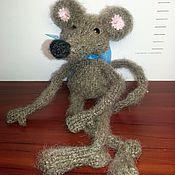 Куклы и игрушки ручной работы. Ярмарка Мастеров - ручная работа Крыса вязаная. Handmade.