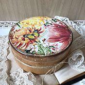 Для дома и интерьера ручной работы. Ярмарка Мастеров - ручная работа SUMMER TIME - шкатулка для украшений. Handmade.