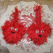Подарки к праздникам ручной работы. Ярмарка Мастеров - ручная работа сердечки с глазками. Handmade.