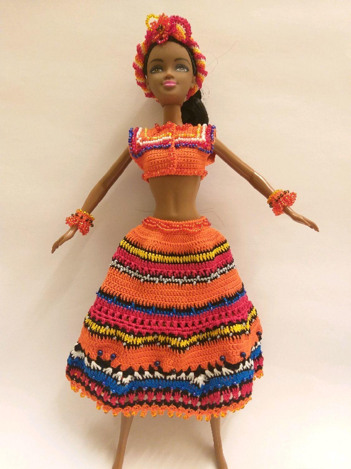 Арабеска одежда для куклы Барби вязанная, Одежда для кукол, Москва, Фото №1
