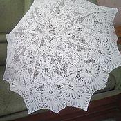Русский стиль ручной работы. Ярмарка Мастеров - ручная работа кружевной зонт. Handmade.