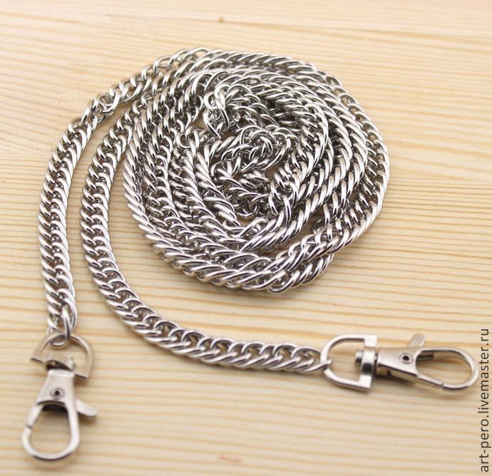 Купить Цепочки для сумок крупные- золото, никель - фурнитура для ZD410