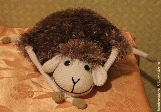 Игрушки животные, ручной работы. Ярмарка Мастеров - ручная работа. Купить Игрушка-подушка овечка Лола. Handmade. Овечка игрушка