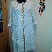 Одежда ручной работы. Ярмарка Мастеров - ручная работа Плащ изо льна. Handmade.