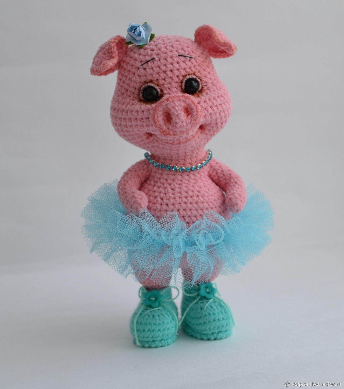 мк свинка пегги свинка в ботинках крючок купить в интернет
