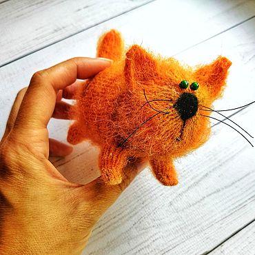 Куклы и игрушки ручной работы. Ярмарка Мастеров - ручная работа Солнечный котенок. Handmade.