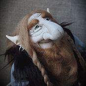 Куклы и игрушки ручной работы. Ярмарка Мастеров - ручная работа Норвежский тролль. Handmade.