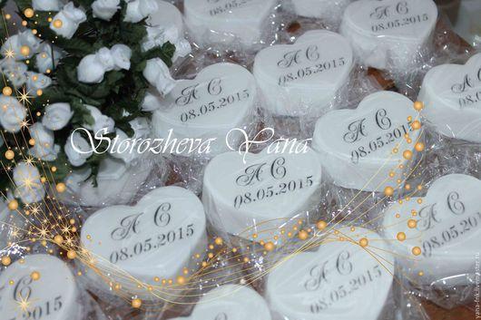 Подарки на свадьбу ручной работы. Ярмарка Мастеров - ручная работа. Купить Мыло-комплимент-подарок гостям №2. Handmade.