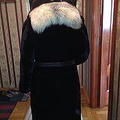 Одежда ручной работы. Ярмарка Мастеров - ручная работа Шуба из натурального меха мутон писец или лиса. Handmade.