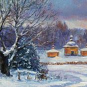 Картины и панно handmade. Livemaster - original item Oil painting on the wall