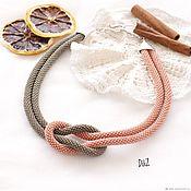 Украшения handmade. Livemaster - original item necklace beaded