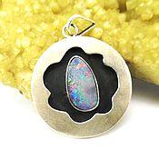 Украшения handmade. Livemaster - original item Pendant with opal (Australia). Handmade.