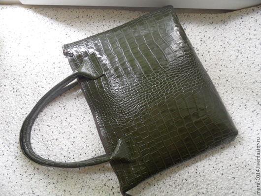 Сумки для ноутбуков ручной работы. Ярмарка Мастеров - ручная работа. Купить OFFICIELs, зеленая кожаная сумка для ноутбука. Handmade.