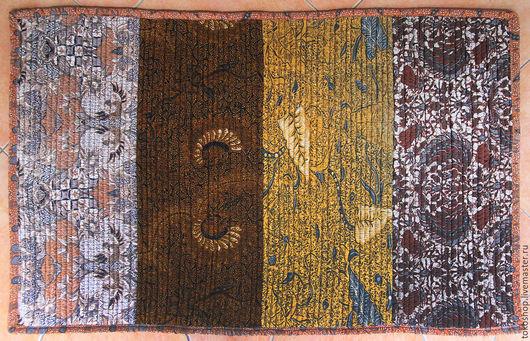 """Текстиль, ковры ручной работы. Ярмарка Мастеров - ручная работа. Купить Коврик """"Batik Bunga"""".. Handmade. Комбинированный, винтаж"""
