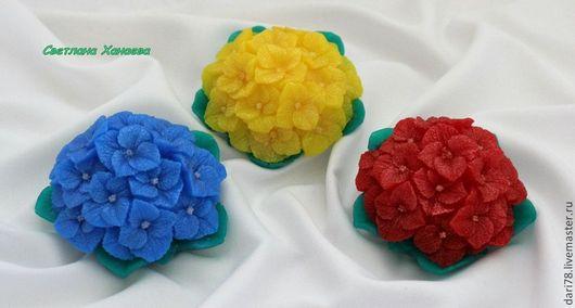 """Мыло ручной работы. Ярмарка Мастеров - ручная работа. Купить Мыло ручной работы """"Букет гортензий"""".. Handmade. цветы, Квиллинг"""