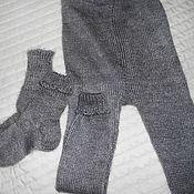 Socks for kids handmade. Livemaster - original item baby pants, socks. Handmade.