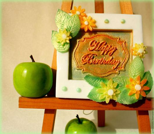Сувенирное мыло `День рождения`. Ручная работа. Ярмарка мастеров.