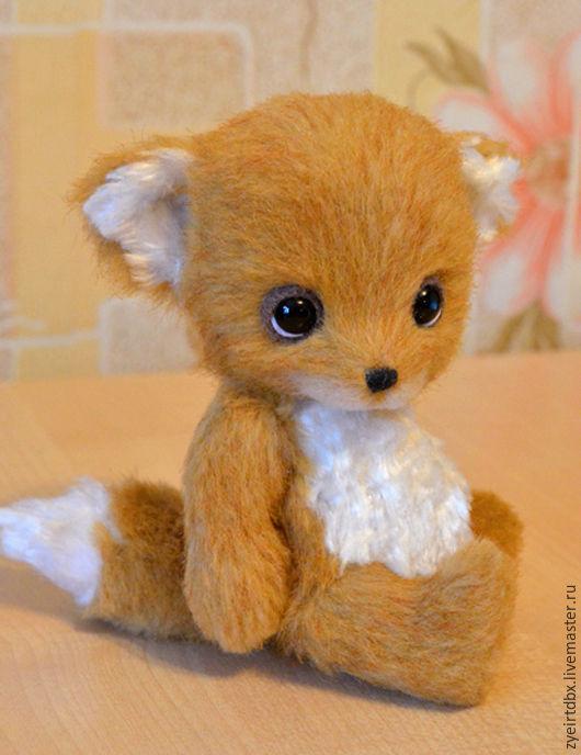 Мишки Тедди ручной работы. Ярмарка Мастеров - ручная работа. Купить Лисенок Малыш. Handmade. Рыжий, лис, тедди миник