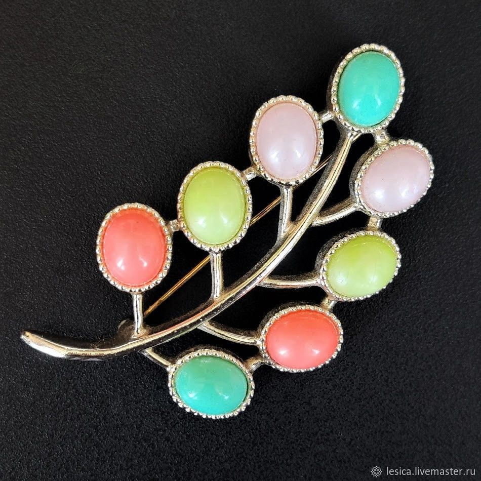 Sarah Coventry Brooch USA Candy Land Collection 1973, Vintage brooches, Ramenskoye,  Фото №1