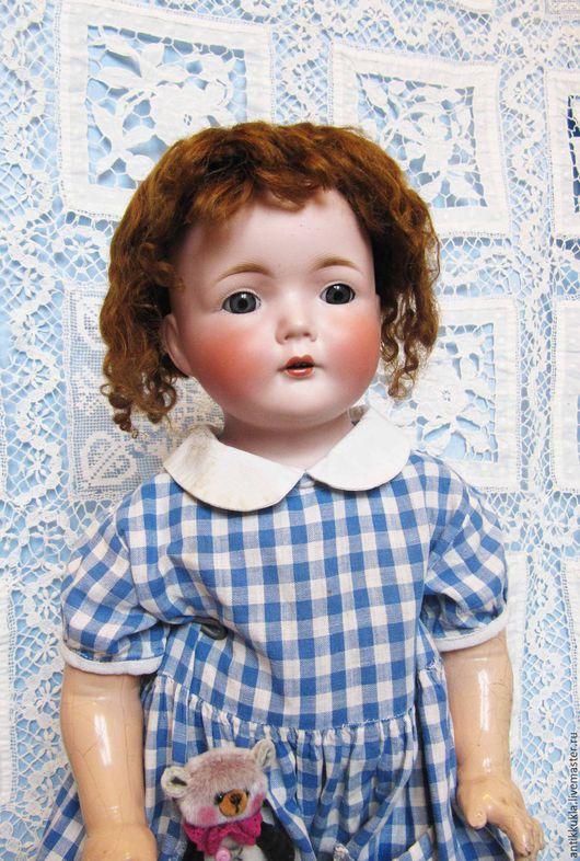 Винтажные куклы и игрушки. Ярмарка Мастеров - ручная работа. Купить Старинная редкая кукла Kestner 281. Handmade. Кремовый, фарфор