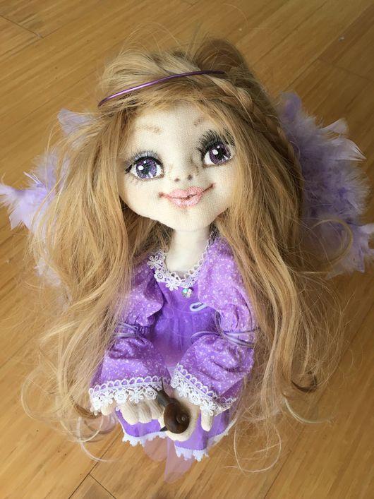 Коллекционные куклы ручной работы. Ярмарка Мастеров - ручная работа. Купить Purple Angel ( Фиолетовый Ангел). Handmade. Ангел