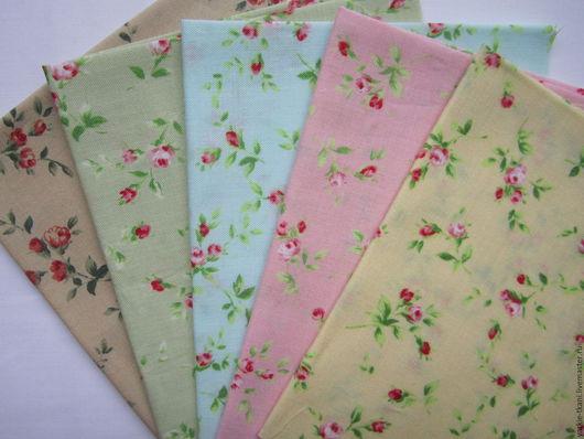 """Шитье ручной работы. Ярмарка Мастеров - ручная работа. Купить Набор тканей """"Нежность"""" (арт.3707) Корея. Handmade. Разноцветный"""