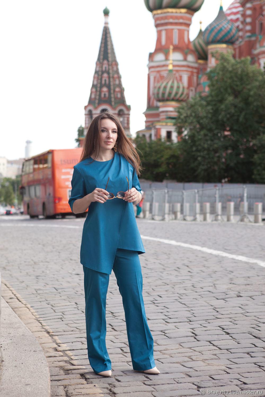 Брючный костюм LETIZIA, Костюмы, Москва,  Фото №1