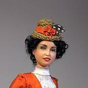 Куклы и игрушки ручной работы. Ярмарка Мастеров - ручная работа Шляпница. Handmade.