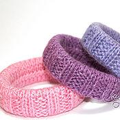 Украшения handmade. Livemaster - original item Knit bangles (set of 3 PCs). Handmade.