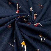Материалы для творчества ручной работы. Ярмарка Мастеров - ручная работа Итальянская плательная ткань MARINA RINALDI  балерины. Handmade.