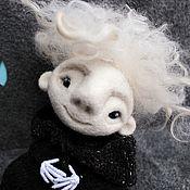 """Куклы и игрушки ручной работы. Ярмарка Мастеров - ручная работа Войлочная фигурка """" Киш Ночной"""". Handmade."""