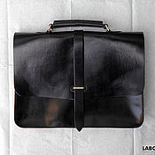 Brief case handmade. Livemaster - original item Briefcase leather business style mod.1. Handmade.