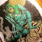 Одежда ручной работы. Ярмарка Мастеров - ручная работа Зеленая стрела. Handmade.