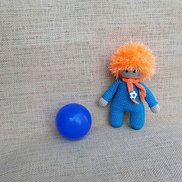 Куклы и игрушки ручной работы. Ярмарка Мастеров - ручная работа Вязаный пупс. Мальчик. Handmade.