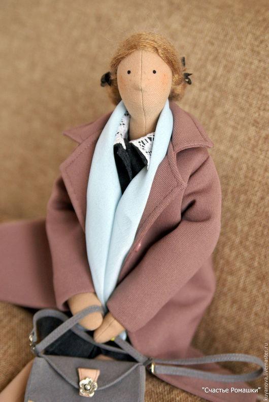 Куклы Тильды ручной работы. Ярмарка Мастеров - ручная работа. Купить Иришка. Handmade. Комбинированный, подарок женщине, косички, фетр