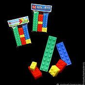 """Мыло ручной работы. Ярмарка Мастеров - ручная работа мыло """"Лего"""" подарок ребенку. Handmade."""