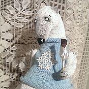 Куклы и игрушки ручной работы. Ярмарка Мастеров - ручная работа Нежный,снежный,белоснежный). Handmade.
