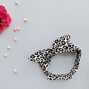 Аксессуары handmade. Livemaster - original item Children`s Solokha Leopard. Handmade.
