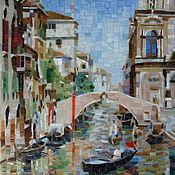 Венеция. Картина из мозаики