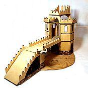 Куклы и игрушки handmade. Livemaster - original item Prison, castle, toy for a boy. Handmade.