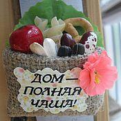 Сувениры и подарки ручной работы. Ярмарка Мастеров - ручная работа Магнит оберег. Handmade.