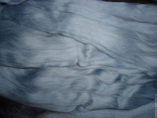 Валяние ручной работы. Ярмарка Мастеров - ручная работа. Купить Меринос аргентинский 21 мкр., 50 гр.. Handmade. Серый