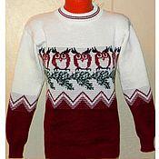 Одежда handmade. Livemaster - original item Sweater women knitted Owl. Handmade.