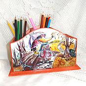 Канцелярские товары handmade. Livemaster - original item Pencil Chanterelles. Handmade.
