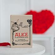 """Клатчи ручной работы. Ярмарка Мастеров - ручная работа Клатч-книга """"Алиса в стране чудес"""". Handmade."""
