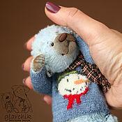 Мягкие игрушки ручной работы. Ярмарка Мастеров - ручная работа медведик Ланкачи. Handmade.