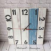 """Часы классические ручной работы. Ярмарка Мастеров - ручная работа Часы настенные """"Home"""". Handmade."""