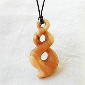 handmade. Livemaster - original item Pendant-Amulet made of wood